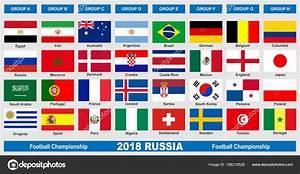 Wm 2018 Flaggen : flaggen der welt fu ball wm 2018 stockvektor cobalt88 ~ Kayakingforconservation.com Haus und Dekorationen