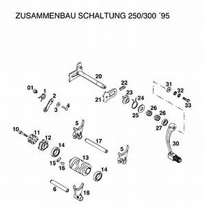 Ktm 360 Wiring Diagram : werribee motorcycles 360 mxc 1996 shift mechanism 250 ~ A.2002-acura-tl-radio.info Haus und Dekorationen