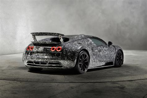 mansory bugatti veyron vivere diamond edition rear