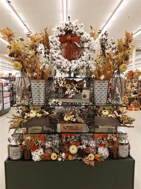fall  hobby lobby cotton display hobby lobby