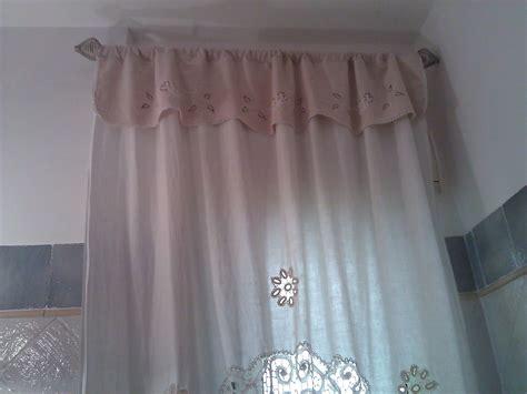 tende merletto tenda in lino con applicazioni e merletto in bagno shabby