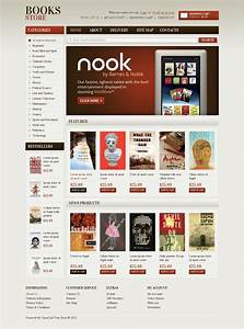book store opencart template 38889 With opencart bookstore template