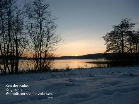 ruhe entspannung abend winterstimmung seeimwinter