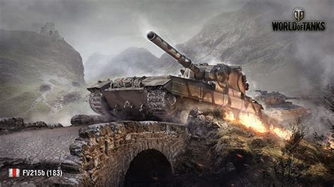 fv215b 183 world of tanks wallpapers hd wallpapers id 13107