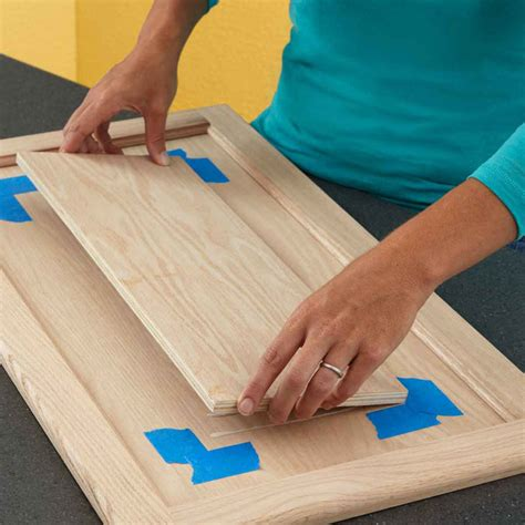 how to make flat panel cabinet doors panel and patina cabinet door