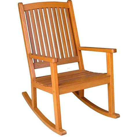 chaise rocking chair royal tahiti yellow balau wood kd large rocking chair