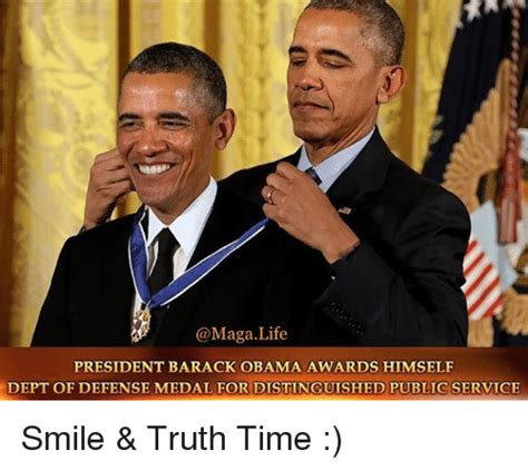 life president barack obama awards  dept  defense