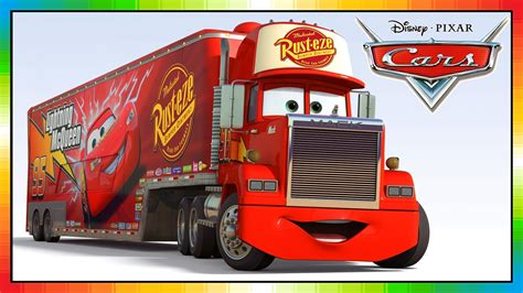 truck car mack truck cars disney from the cars movie and game