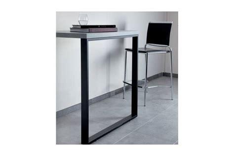 pied de plan de travail cuisine pied de table rectangulaire accessoires cuisines