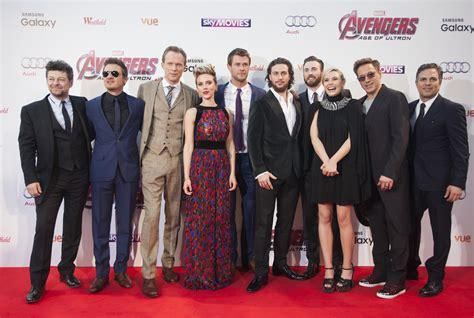 Stars Assemble For Avengers Age Ultron London Premiere