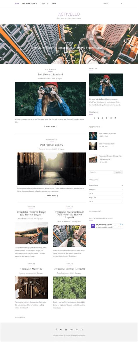 Free Responsive Themes 30 Best Free Responsive Themes 2018