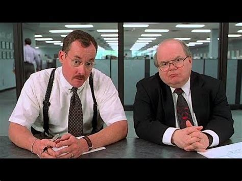Office Space Bobs by How C Mcginley Became One Of The Two Bobs In Quot Office