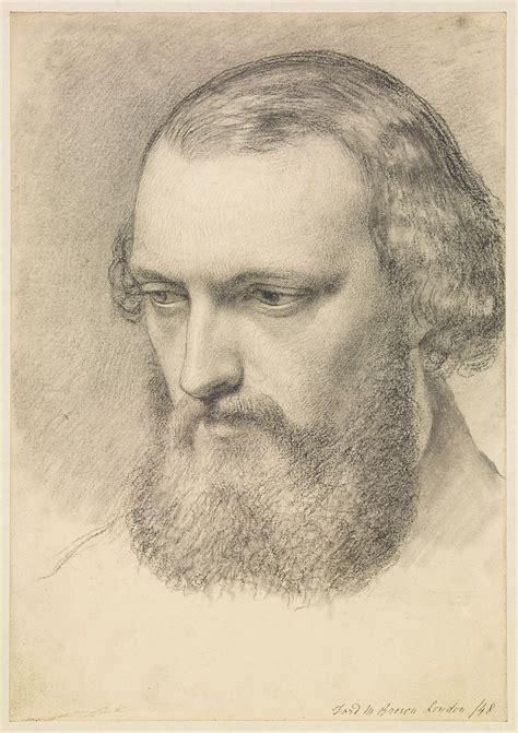ford madox brown portrait head study  daniel casey