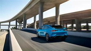 This is the 2021 Ford Mustang Mach-E with up to 300 miles of range, 0-60 in 3 seconds, $43,895 ...