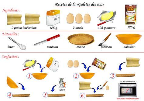 recett de cuisine recette de la galette des rois