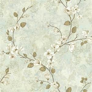 York Wallcoverings Charlotte Dogwood Wallpaper