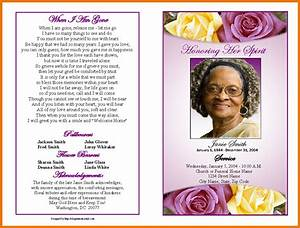 Free funeral program template for word pertaminico for Funeral pamphlets templates free