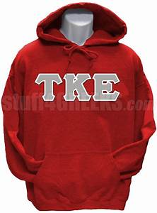 tau kappa epsilon pullover hoodie sweatshirt with greek With fraternity letters sweatshirts