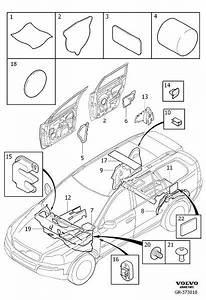Volvo Xc90 Sealing  Plugs  Body  Insulation