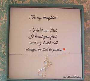 for my daughter necklace to daughter from mom With wedding gift from mother to daughter
