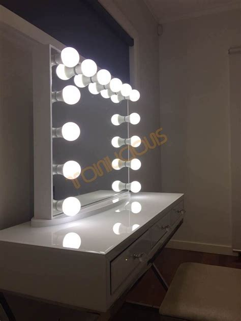 frameless vanity mirror with lights l frameless white hollywood vanity beauty makeup mirror