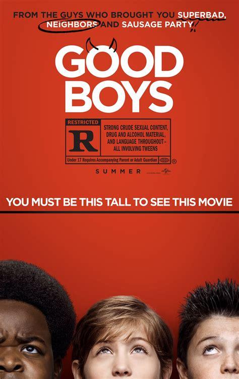 good boys  poster teaser trailer