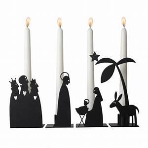Nordische Weihnachtsdeko Online Shop : kerzenhalter krippe 4teilig online kaufen online shop ~ Frokenaadalensverden.com Haus und Dekorationen