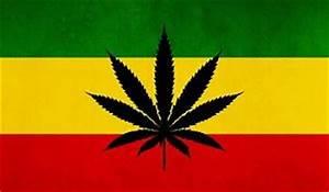 NEW RASTA RASTAFARI RASTAFARIAN FLAG WITH WEED SYMBOL WALL