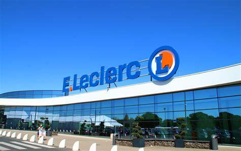 siege leclerc enseigne leclerc graphic application
