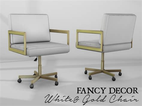 gold office chair chairs model