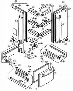 Door Parts Diagram  U0026 Parts List For Model 79575193400