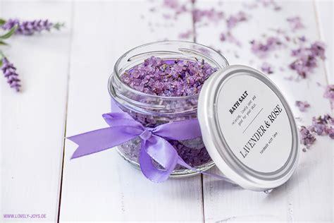 badesalz selber machen lavendel badesalz raumspray duni cheri