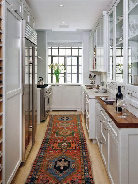 narrow galley kitchen ideas galley style kitchen design ideas for the abode 3428