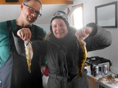 ice fishing  chapmans mille lacs resort guide service