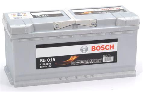 S5 015 Bosch Car Battery 12v 110ah Type 020