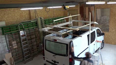installation toit relevable vivaro lh youtube