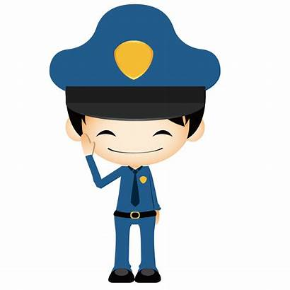 Policeman Animation Clipart Police Cartoon Transparent Webstockreview