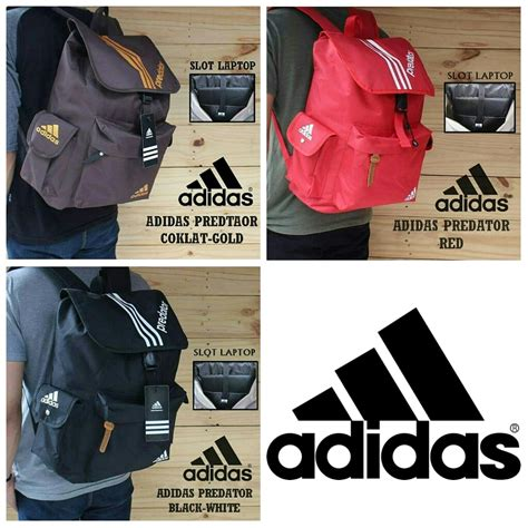 jual tas ransel sekolah pria wanita adidas sport tas