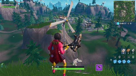 fortnite wind turbines locations season  dot esports