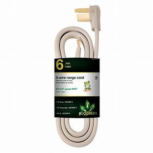 Whirlpool 4 Ft  4-wire 50 Amp Range Cord-pt500