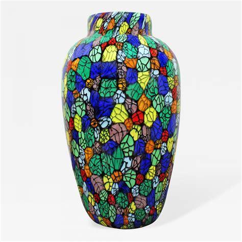 Colorful Vases by Vittorio Ferro Vitorrio Ferro Colorful Blown Glass