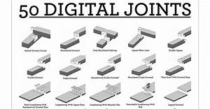 Gallery of 50 Downloadable Digital Joints For Woodworking - 1