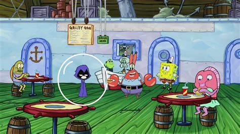 image spongebob  ttg crossover ppng teen titans