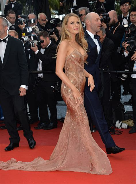 blake lively  sexier     cannes red