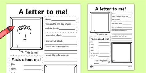 letter   writing activity  class transition