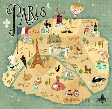 crichard faust map  paris wwwrichardfaustcom