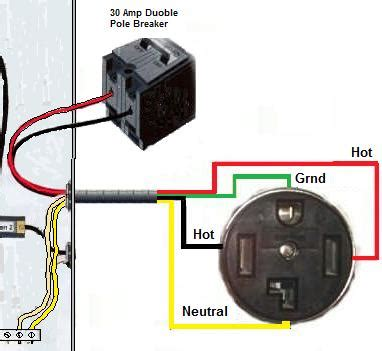 Electric Dryer Receptacle Wiring Diagram by How Should I Wire A 3 Prong Dryer To 4 Prong