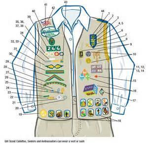 Girl Scout Cadette Uniform