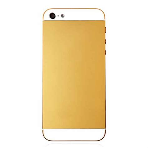 iphone 5 gold iphone 5 gold back cover conversion kit
