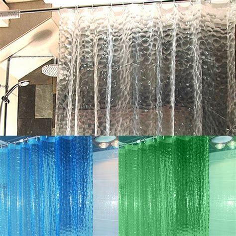 Translucent Shower Curtain - shower curtain translucent 3d thickened shower curtains
